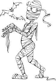 Small Picture Mummy coloring pages for kids printable coloring book pages