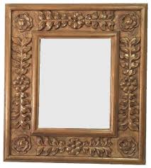 decorative french mirror frame solid carved wood victorian wall mirrors by fancydecor