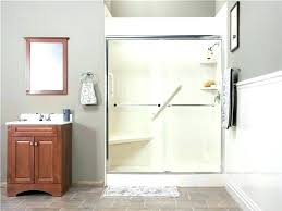 on a budget shower curtain vs glass door on tub