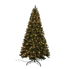 9 Ft PreLit Balsam Artificial Christmas Tree With 900 AlwaysLit Artificial Christmas Tree 9ft