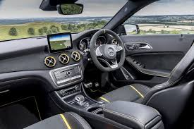 Mercedes cla 45 amg review. 2018 Mercedes Amg Gla 45 Yellow Night Edition Looks Like The Edition 1 Autoevolution
