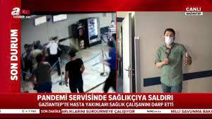 Gaziantep'te corona virüsüne karşı mücadele eden doktorlara hasta  yakınlarından feci dayak   Video videosunu izle   Son D