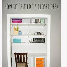 Terrific Desk In Closet Ikea Photo Design Inspiration