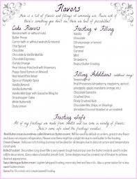 Wedding Cake Flavors List Ice Cream Cup Cakes