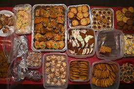 Image result for plate of assorted baked goods