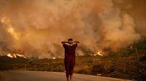 تراجع مدى انتشار الحريق في شمال المغرب - فرانس 24