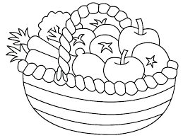 Vegetables Coloring Pages Coloring Pages Of Fruits And Vegetables