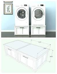 washer dryer stands samsung pedestal dimensions owiczart