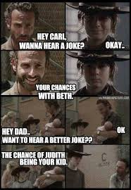 Walking dead jokes on Pinterest | Dad Jokes, Rick Grimes and ... via Relatably.com