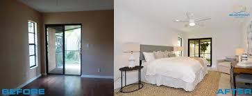 Master Bedroom Remodel, Flip Before And After