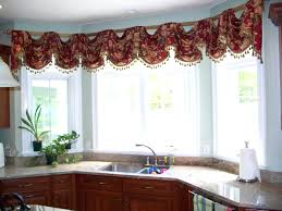 above window decor gorgeous hanging lamp casual in galley kitchen guide to  choose the appropriate curtain
