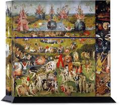 garden of earthly delights poster. Garden Of Earthly Delights PlayStation Skin Poster