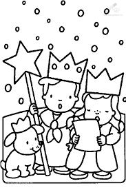 1001 Kleurplaten Kerst Kerst Liedjes Kleurplaat 3 Koningen