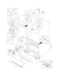 Cabi diagram parts list for model ei23bc35ks7