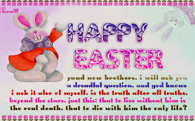 Happy Easter Sister Quote