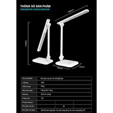 Đèn Bàn Học LED USB Di Động Cao Cấp Có Thể Gập Hai Chỗ – 03 Chế Độ Ánh Sáng  Vàng Bảo Vệ Mắt Chống Cận VinBuy - Đèn bàn