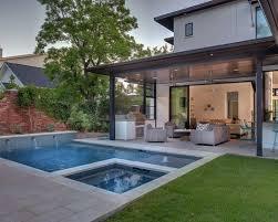 small pool design modern backyard