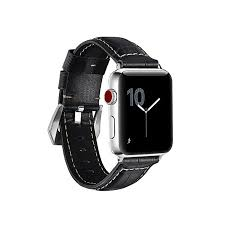 for apple watch band adapter genuine leather strap replacement iwatch strap for apple watch series
