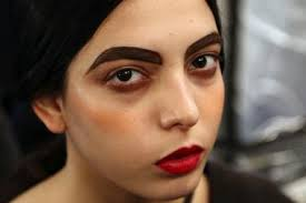 alice thick bold messy brows how to achieve this cur trend