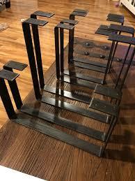 diy metal coffee table base elegant 130 best metal table legs images on