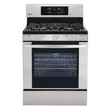 Gas Kitchen Appliances Lg Electronics 54 Cu Ft Gas Range With Self Cleaning Convection