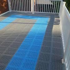outdoor pvc staylock deck floor tiles