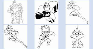 characters featured on bettercoloring.com are the property of their respective owners. The Incredibles Coloring Book Coloring Pages 4 U