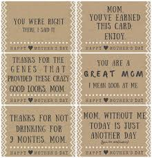 Mothers Day Card Template Enchanting Funny Mother's Day Poem Card Printables Crafty Morning
