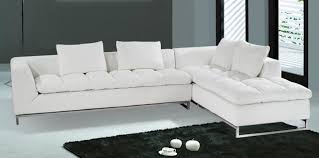 contemporary sectional couch. Elegant White Leather Sectional Chaise Modern Within Sofa Idea 28 Contemporary Couch