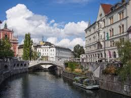 ljubljana photo essay the prettiest capital in europe ljubljana river and triple bridge