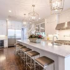 lighting fixtures long island. Extra Long Kitchen Island With Gray Barstools, Transitional, Lighting Fixtures R