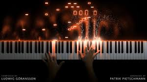 Moonlight sonata (1st mvt) (easy version) trad. The Mandalorian Main Theme Piano Version Youtube