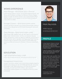 Modern Professional Resume Template 85 Free Resume Templates For Ms