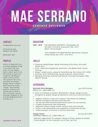Using Color In A Resume Colorful Abstract Creative Resume Templates By Canva