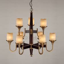 antique 9 light frosted glass shade shab chic chandelier glass shades for chandelier
