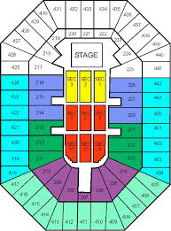 Bradley Center Interactive Seating Chart Bradley Center Seating Chart By Ticket King Milwaukee Via