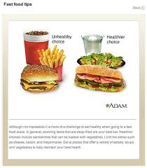 fast food bad for health. Brilliant Fast The Best Proof Ever That Fast Food Is Typically Bad For You On For Health O
