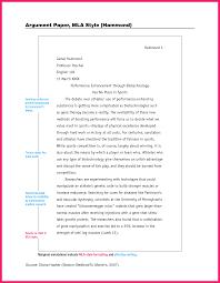 Mla Format Paper Template Gotemplates