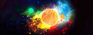 Backgrounds Basketball Cool Basketball Poster Banner Personality Printing Science