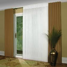 Patio Door Curtain Rods Without Center Bracket Vertical Cellular ...