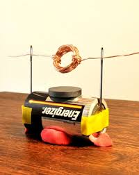 electric motor physics. Middle School Science Projects: How To Make A Simple Electric Motor Physics N