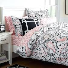 pink polka dot duvet cover full ana paisley duvet cover full queen black pink solid pink