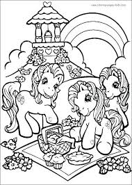 My Little Pony Sea Ponies Coloring Pages Scootershd Wallpapersgq