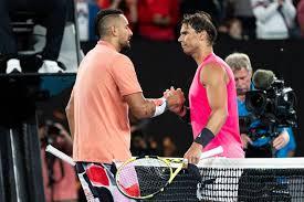 Ник кириос / nick kyrgios. Nick Kyrgios Every Single Person Was Going Nuts When I Played Rafael Nadal At Ao