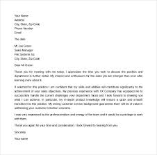 Gallery Of Thank You Letter After Second Interview Download Free