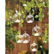 ball globe shape clear hanging glass vase flower plants terrarium vase container micro landscape diy wedding home decoration clear flower vases clear glass
