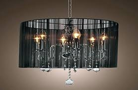 decoration crystal chandelier lamp shades black shade modern chandeliers pendant lights table manufacturers