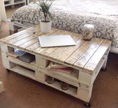 pallet shabby chic coffee table with