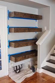 Making Floating Shelves Simple DIY Floating Shelves Tutorial Decor Ideas simply organized 77