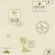 Kitchen Wallpaper Designs Wallpaper Design Kitchen Cream Brown Green Wallpaper Rasch Aqua